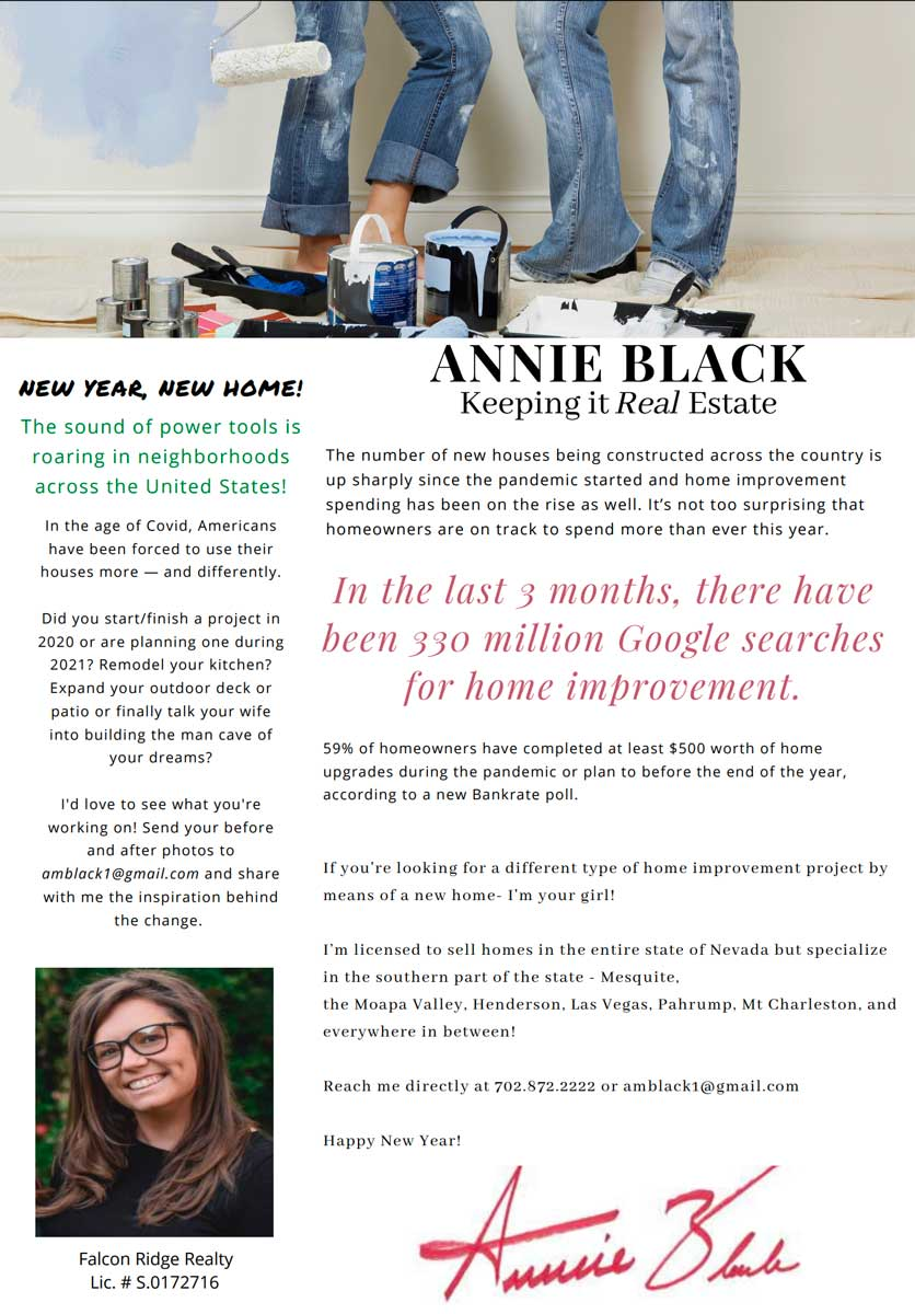 image of a monthly newsletter